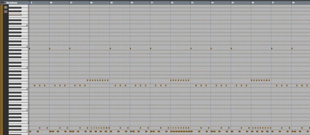 Virtual Drums Midi Editor